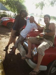 Nasser, Miguel and me