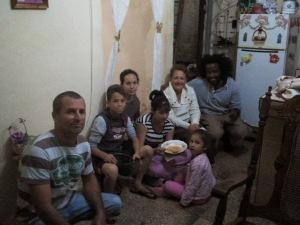 Estrella and' family