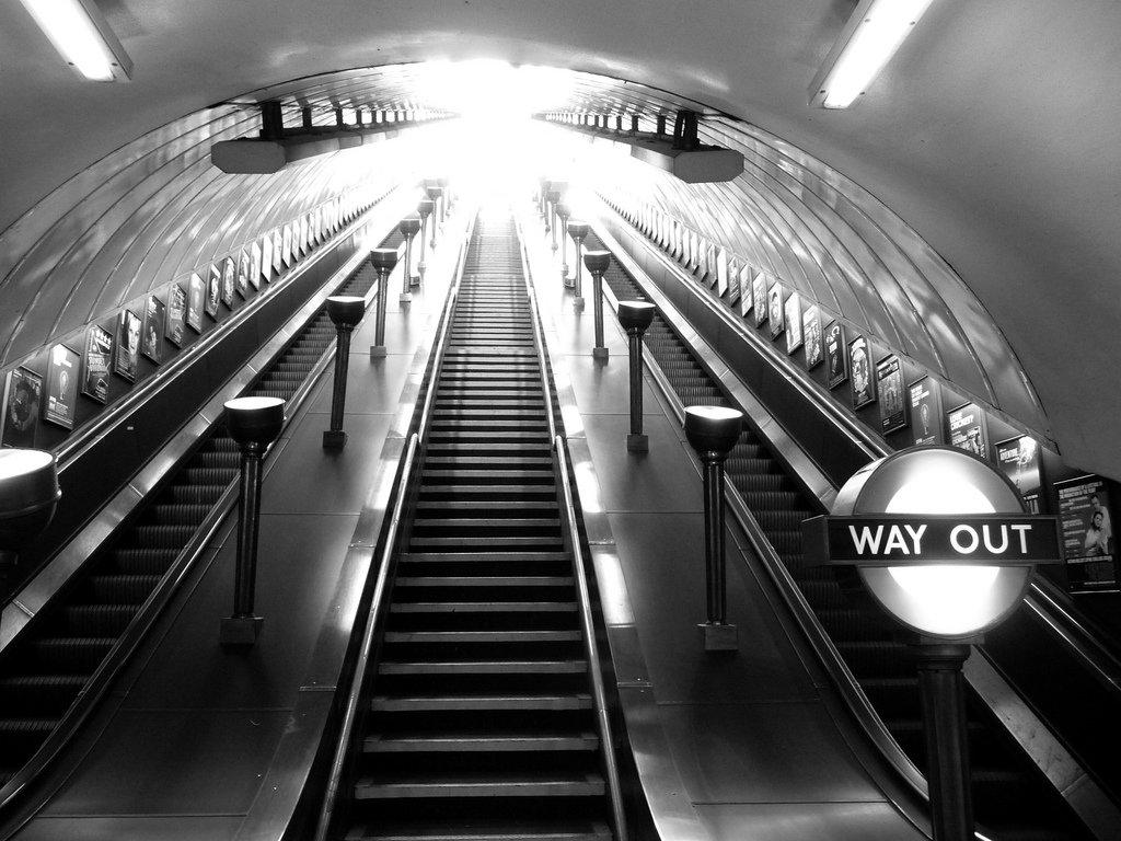 My journey uphigh